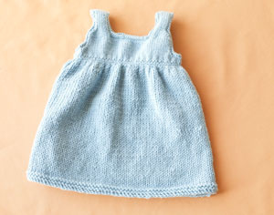 Free Knitting Pattern Baby Sweater Dress